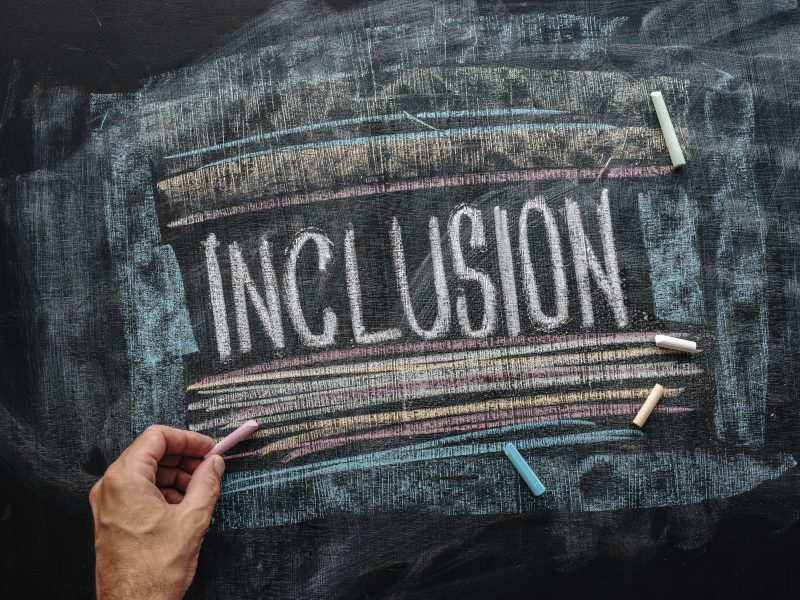 Inclusion is giving citizenship to different perspectives